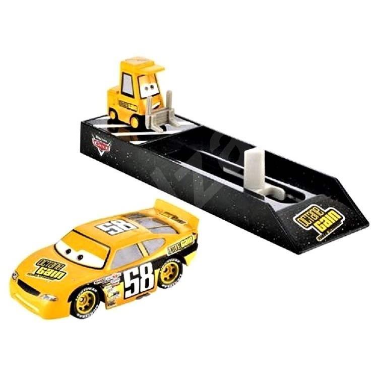 Mattel Cars Závodné Sprinter - Billy Oilchanger - Herná sada