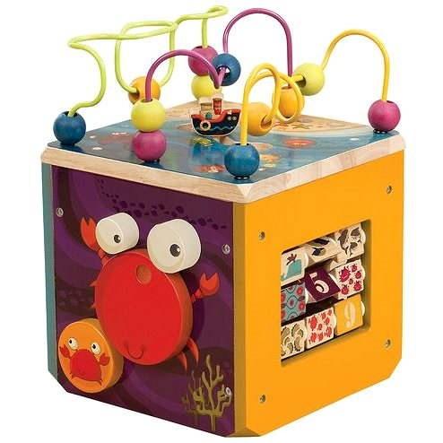 B-Toys Interaktívne kocky Underwater Zoo - Didaktická hračka