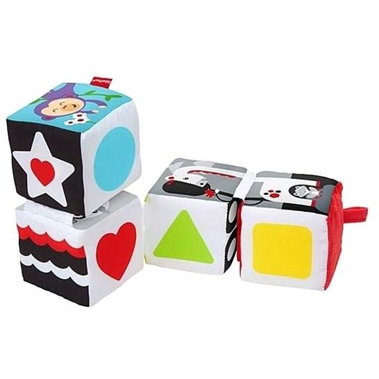 Fisher-Price Naučné mäkké kocky - Obrázkové kocky