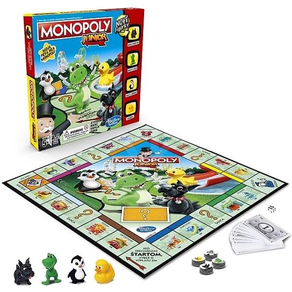 Monopoly Junior SK - Dosková hra