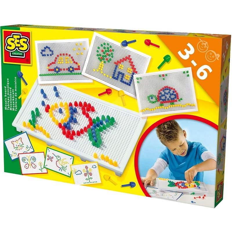 SES Mozaika na doske - Vyrábanie pre deti