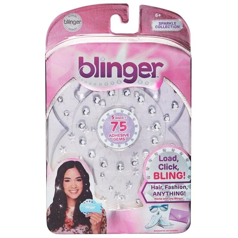 Blinger: Náhradná náplň – strieborná - Kreatívna súprava