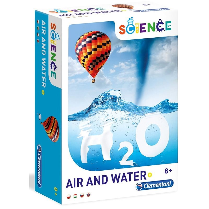 Clementoni – Pokusy voda a vzduch - Kreatívna súprava