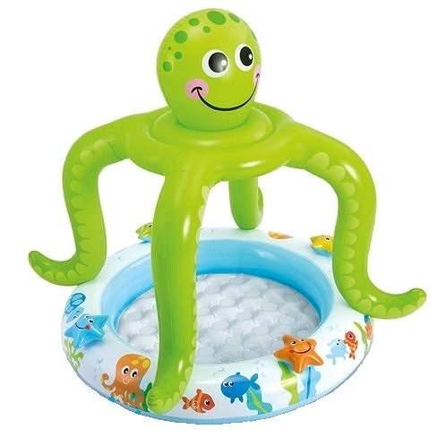 Bazénik so strieškou chobotnice 102 x 104 cm - Nafukovací bazén