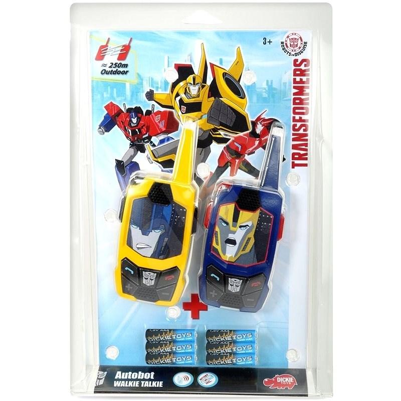 Dickie Transformers Vysílačky Walkie Talkie, 2 druhy - Autorobot
