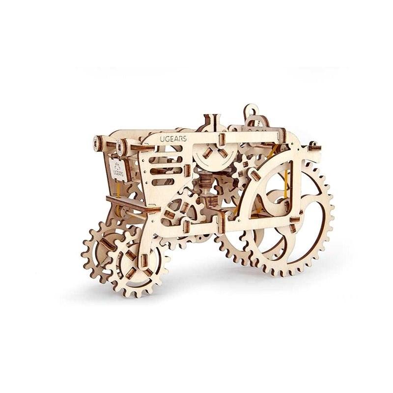 Ugears 3D Mechanický Traktor - Stavebnica