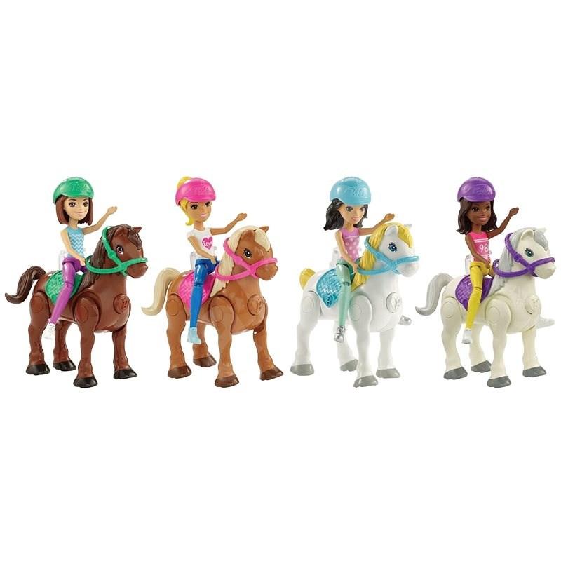 Barbie Mini bábika a pony - Bábika