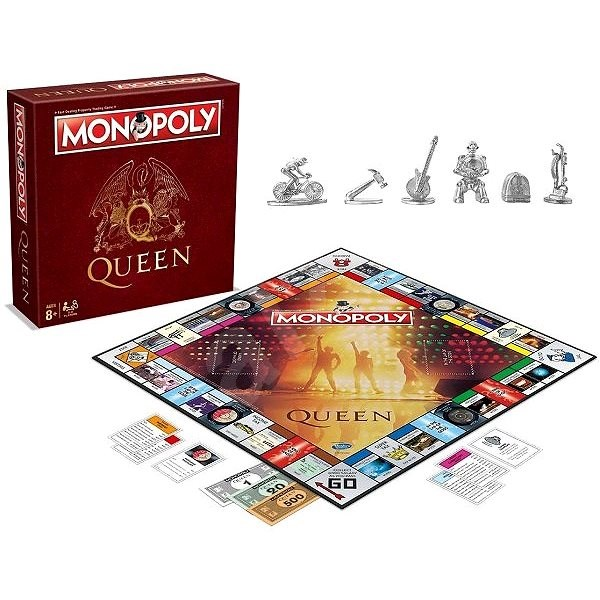 Monopoly Queen, ENG - Spoločenská hra
