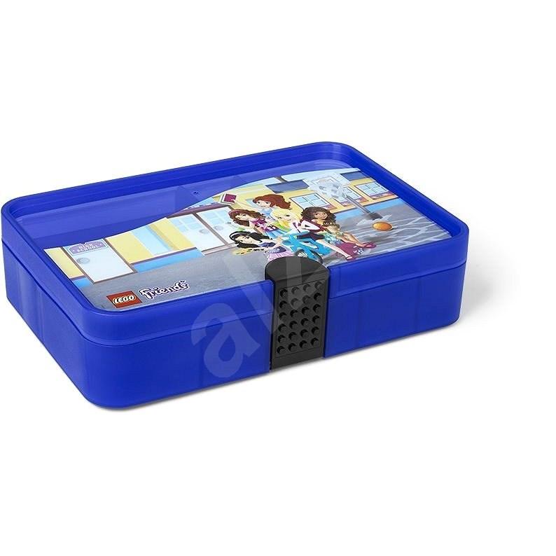 LEGO Friends úložný box s priehradkami – fialový - Úložný box