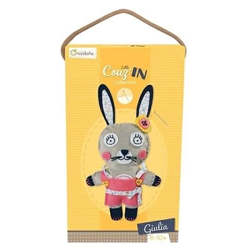 Avenue Mandarine Detské šitie Zajačik Giulia - Kreatívna hračka