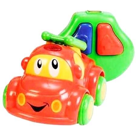Simba Moje první IRC veselé auto červené - RC model