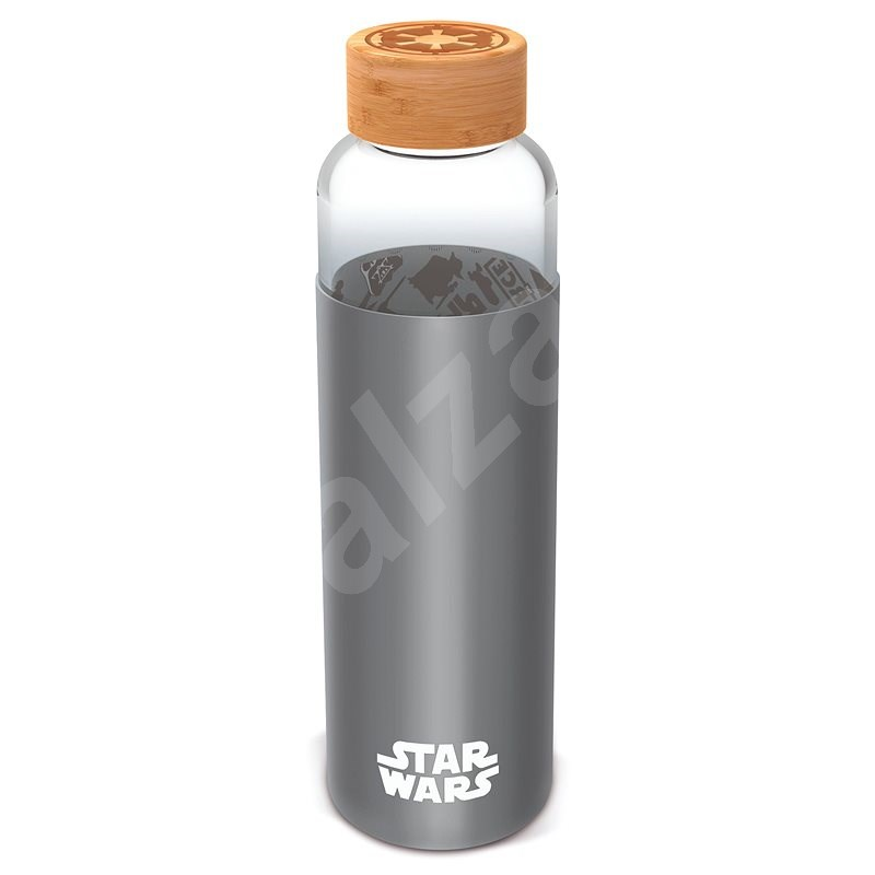 Sklenená fľaša s návlekom 585 ml, Star Wars - Fľaša na vodu