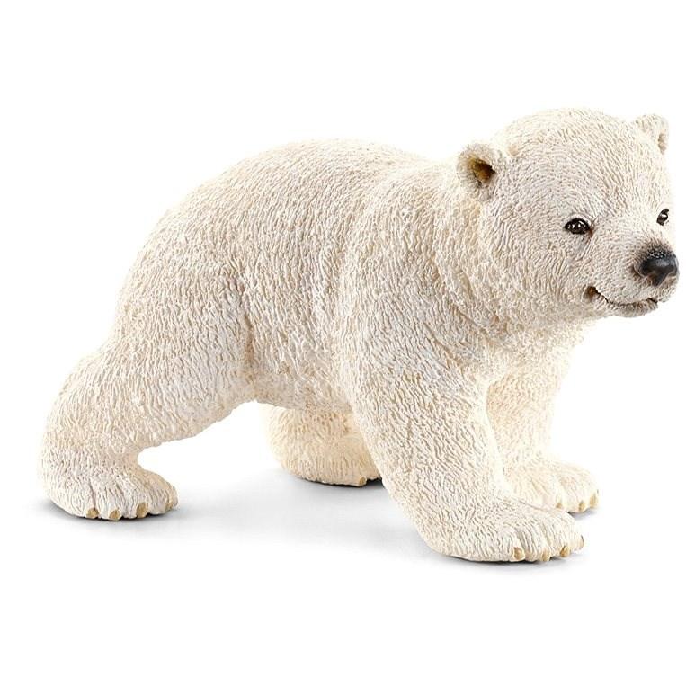 Schleich 14708 Zvieratko – mláďa ľadového medveďa chodiace - Figúrka