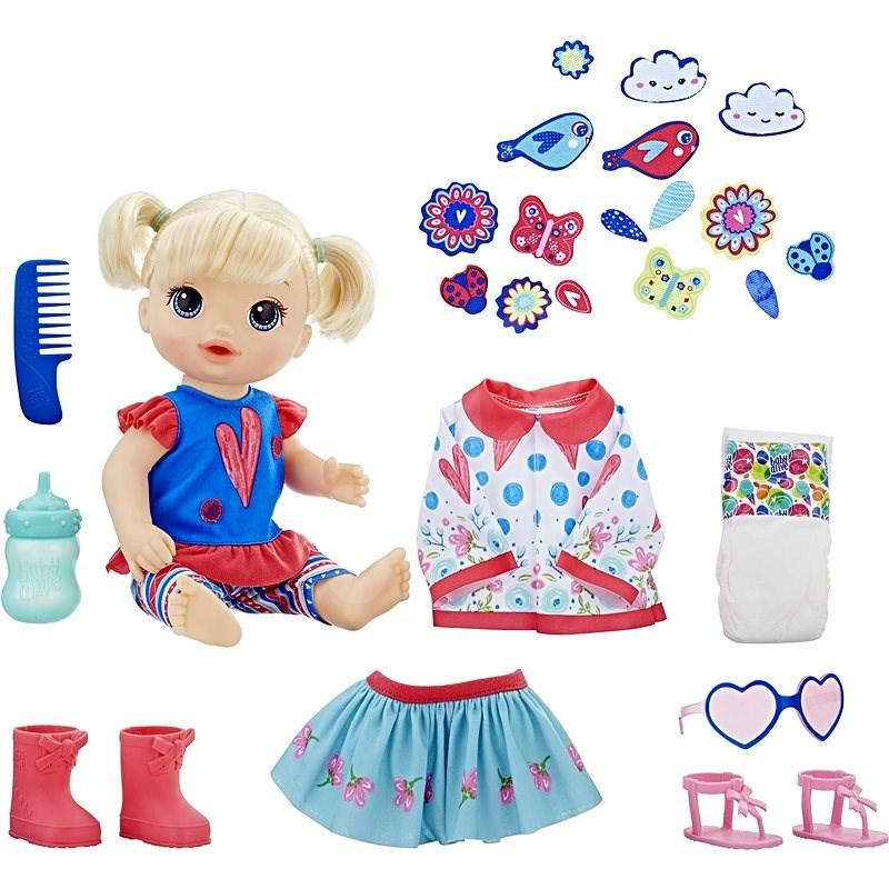 Baby Alive Bábika s náhradným oblečením BL - Bábika
