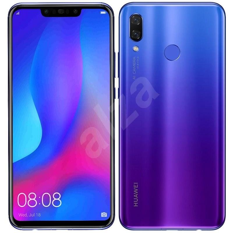 HUAWEI Nova 3 Fialový - Mobilný telefón