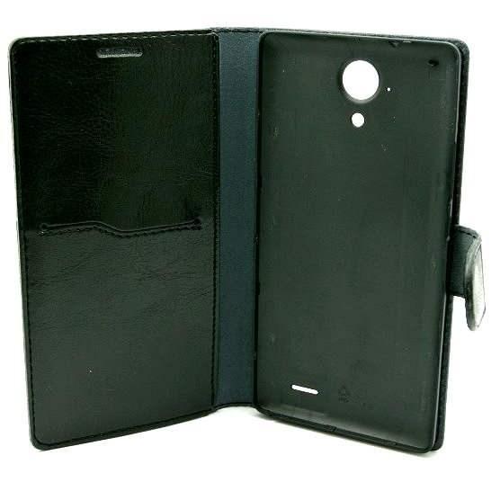 Huyndai HP503Qe Cyrus flip čierne - Puzdro na mobil