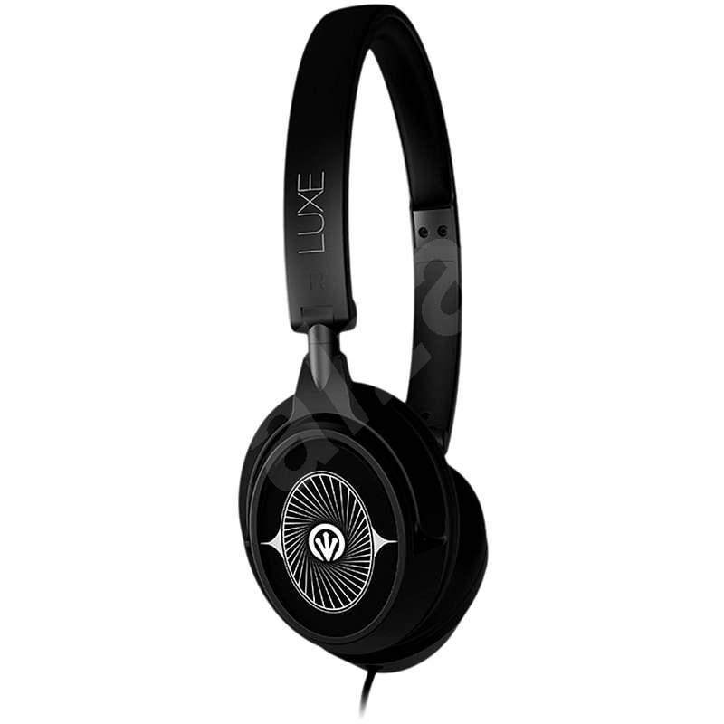 iFrogz Luxe Headphones Mic - černá - Slúchadlá