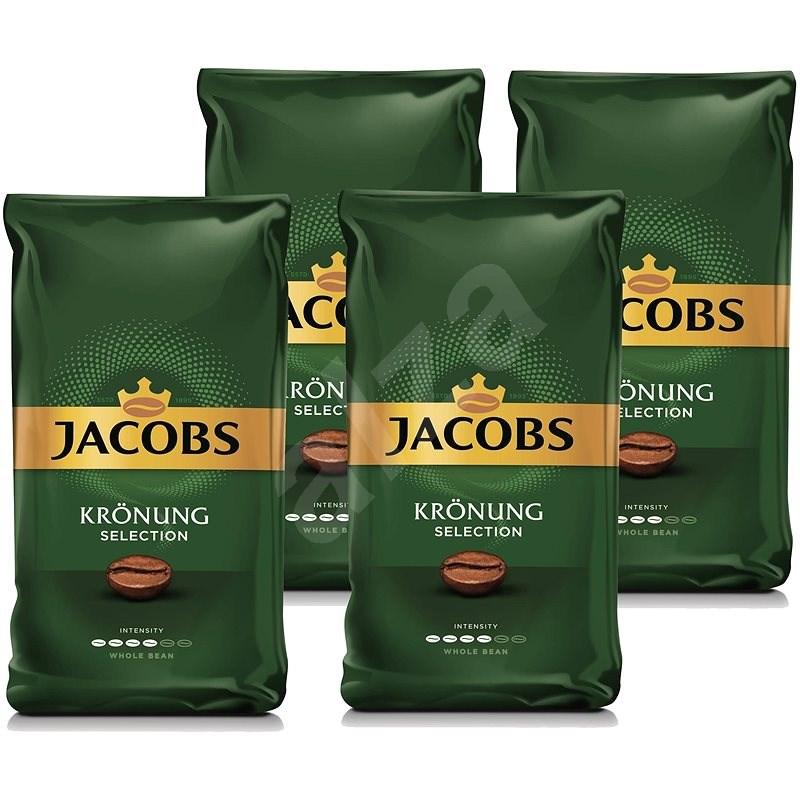 Jacobs Kronung Selection, zrnková, 1000 g, 4 × - Káva