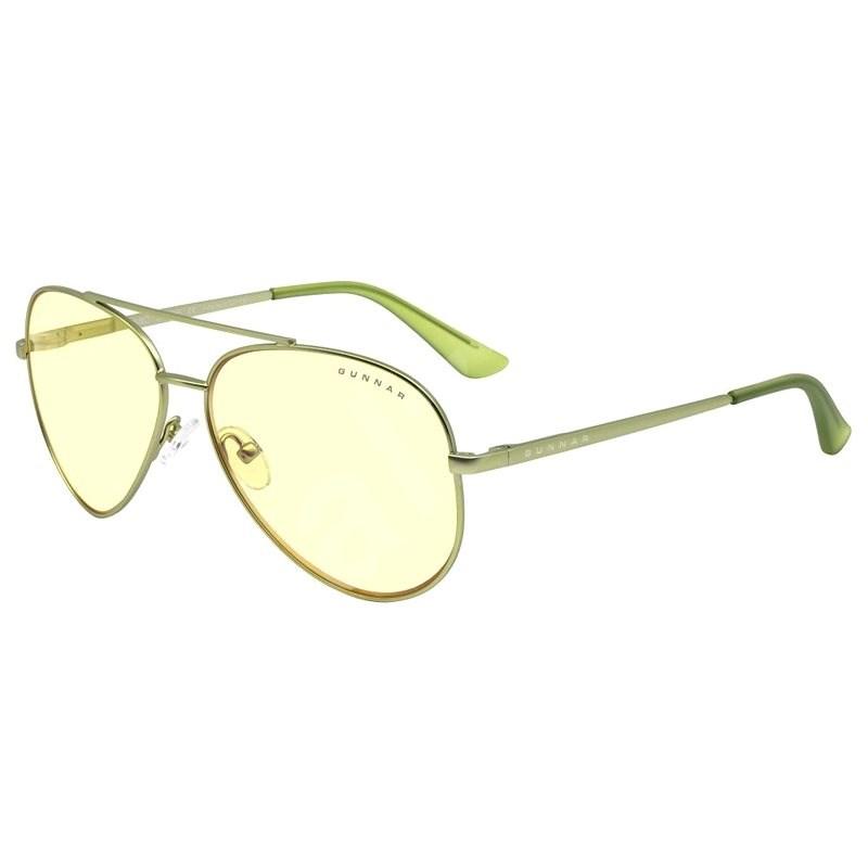 GUNNAR Maverick Mint, jantarová skla - Okuliare na počítač