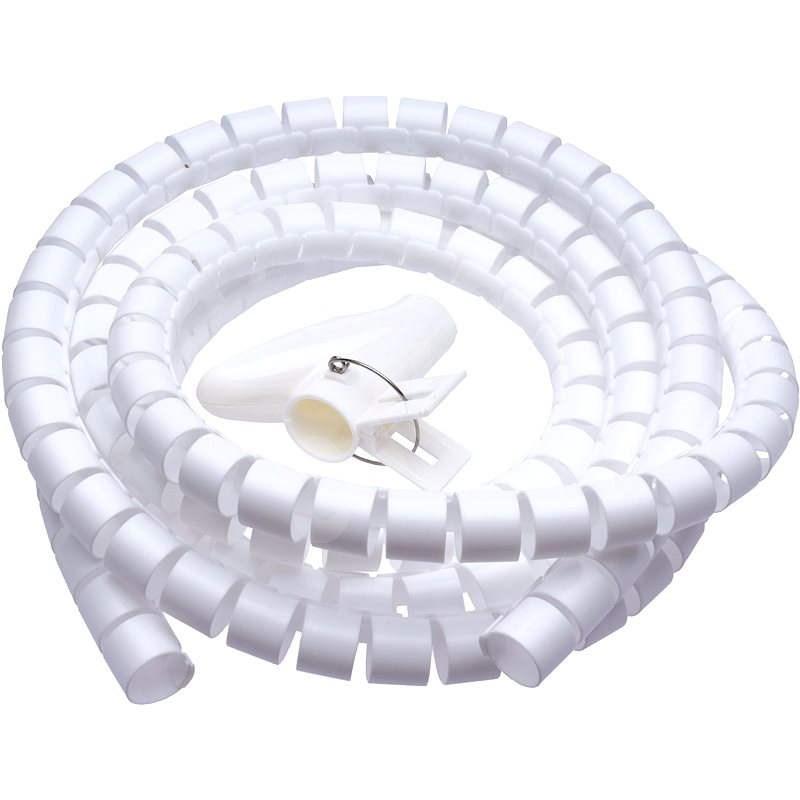 CONNECT IT CableFit WINDER biela 2.5m - Organizér káblov
