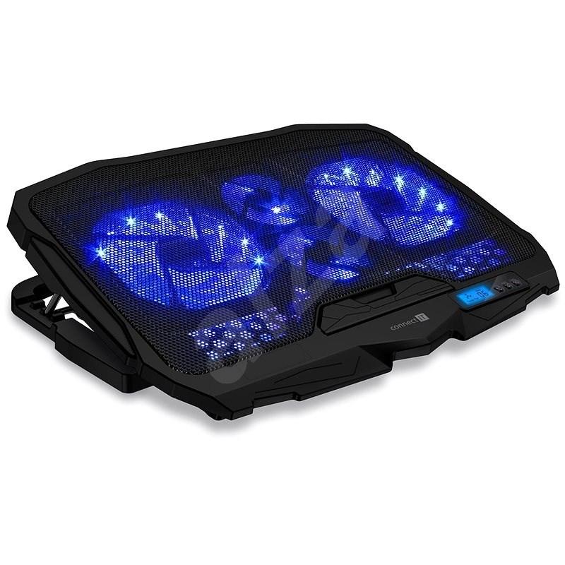 CONNECT IT CCP-2200-BK, čierna - Chladiaca podložka