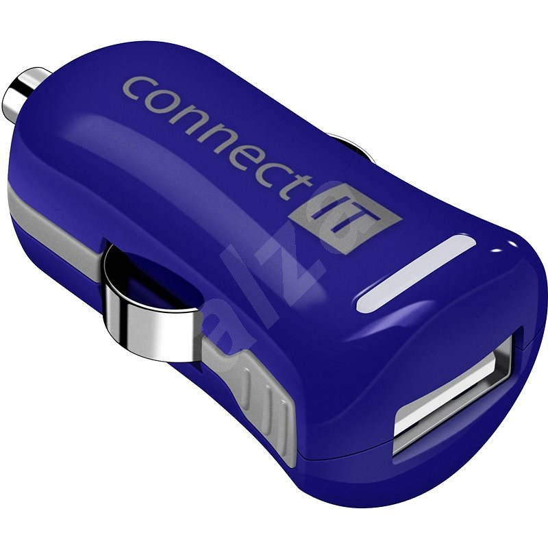 CONNECT IT InCarz Charger ONE 2.1A modrá (V2) - Nabíjačka do auta
