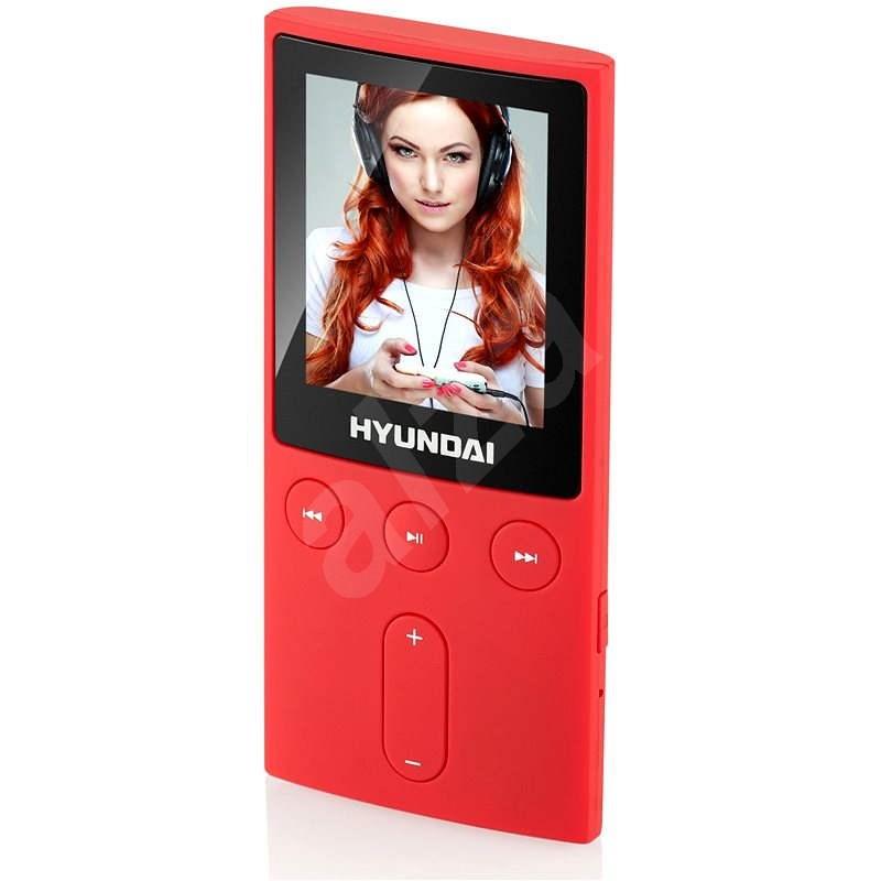 Hyundai MPC 501 FM 4GB červený - MP4 prehrávač