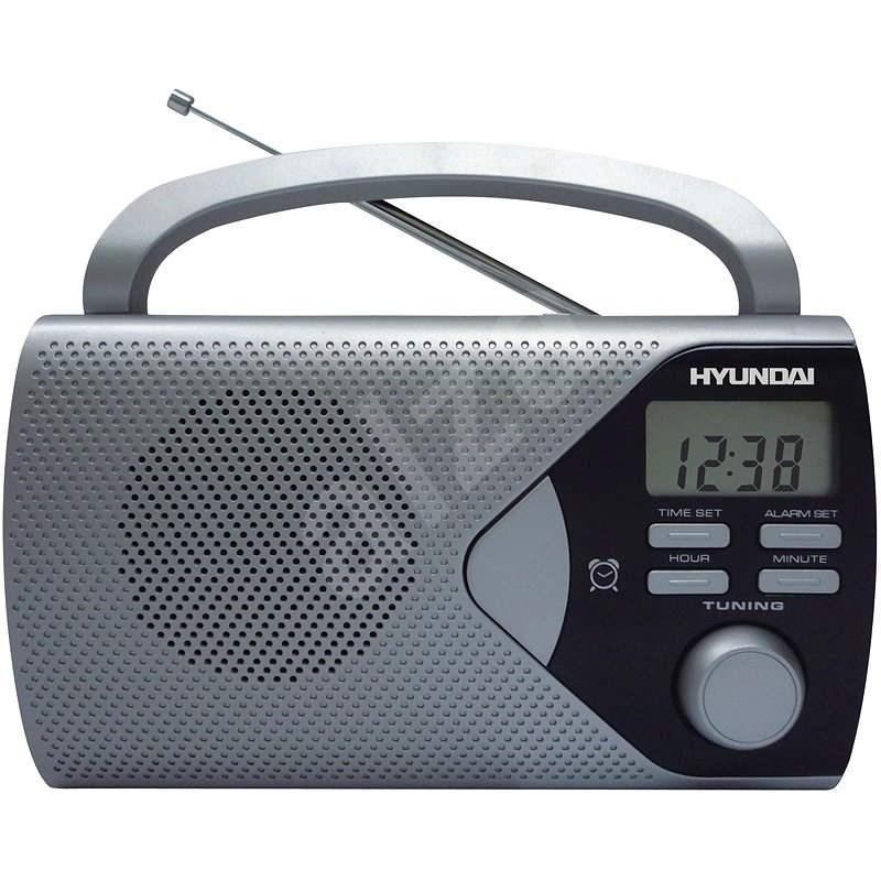 Hyundai PR 200 S strieborný - Rádio