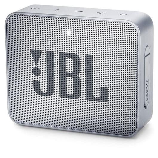 JBL GO 2 sivý - Bluetooth reproduktor