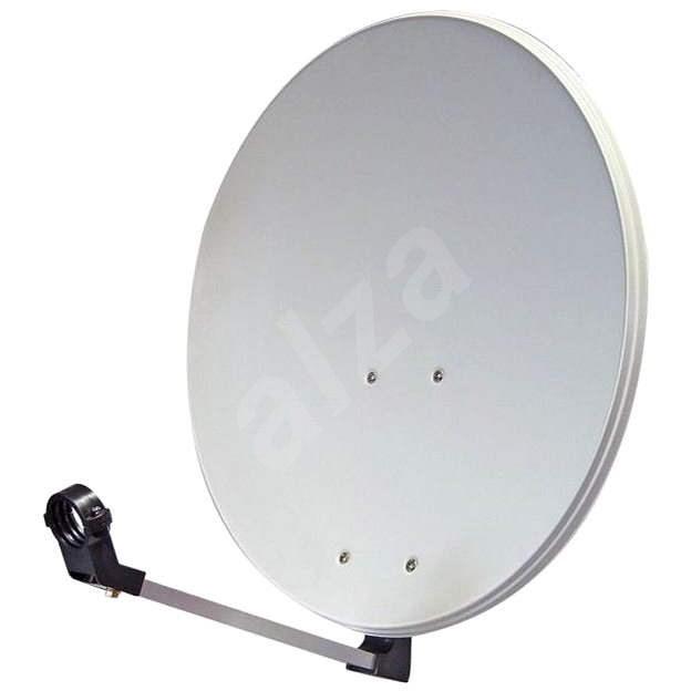 Telesystem satelitná železná parabola 74x84 cm, kartón - Parabola