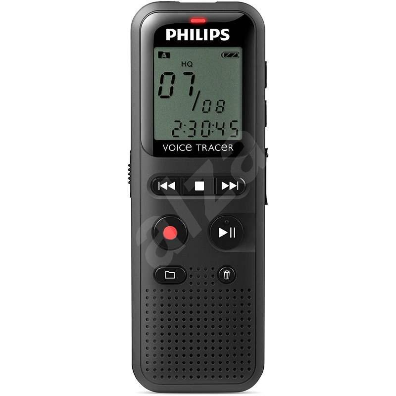 Philips DVT1150 čierny - Diktafón