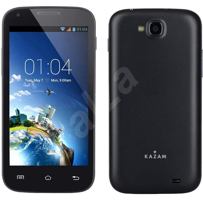 Kazam Trooper2 4.5 Black Dual SIM - Mobilní telefon