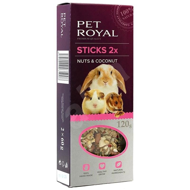 Pet Royal Stick Orech a kokos 2 ks - Maškrty pre hlodavce