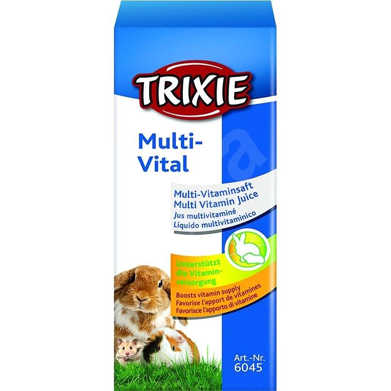 Trixie Multi Vital Multivitamínová šťava pre malé hlodavce a králiky 50 ml - Doplnok stravy pre hlodavce