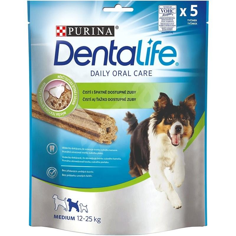 Dentalife medium 115 g - Maškrty pre psov