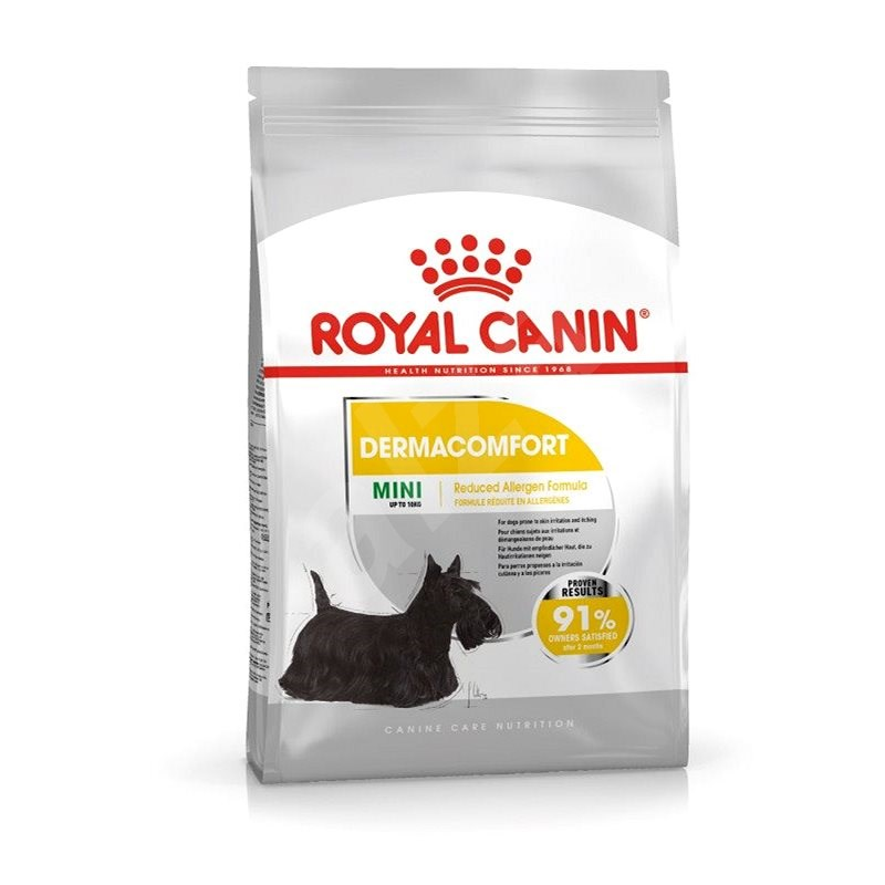 Royal Canin Mini Dermacomfort 3 kg - Granuly pre psov