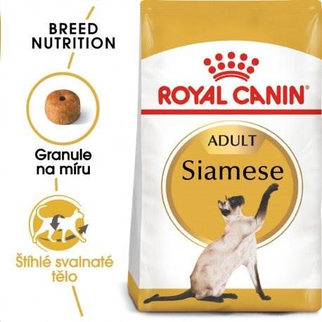 Royal Canin Siamese Adult 10 kg - Granuly pre mačky
