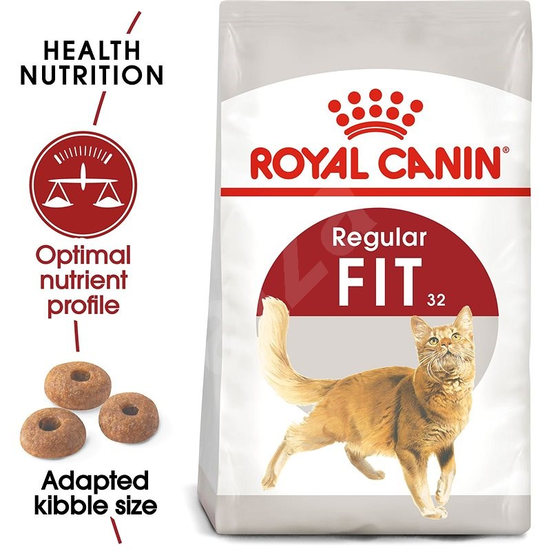 Royal Canin Fit 4 kg - Granuly pre mačky