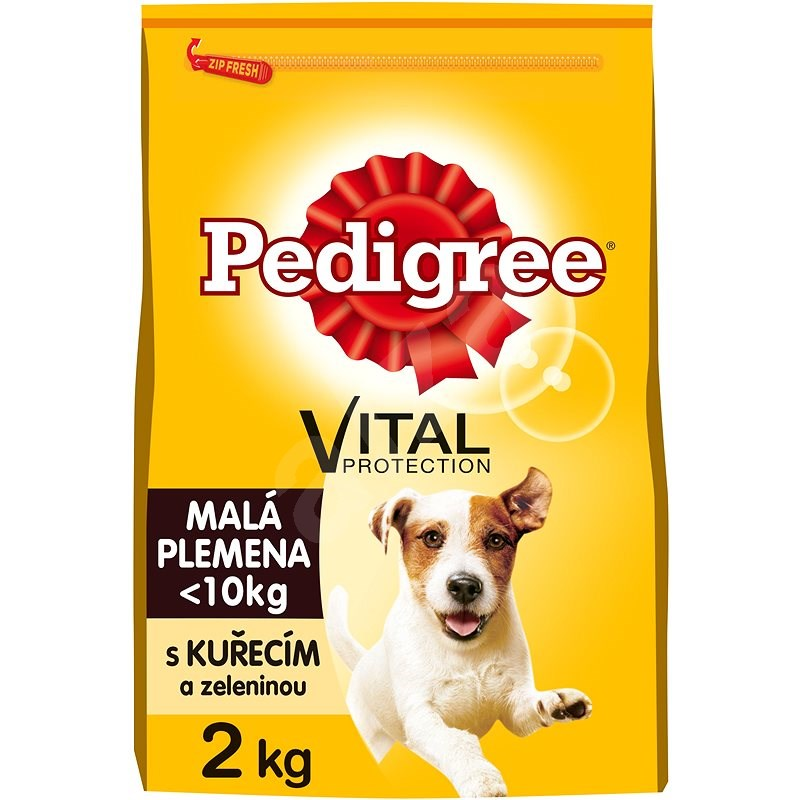 Pedigree Mini s kuracím a zeleninou 2 kg - Granuly pre psov