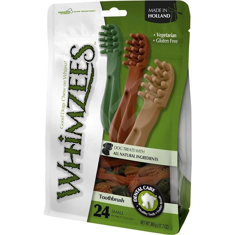 Whimzees Dental zubná kefka pre psa S 15g, 24ks - Maškrty pre psov