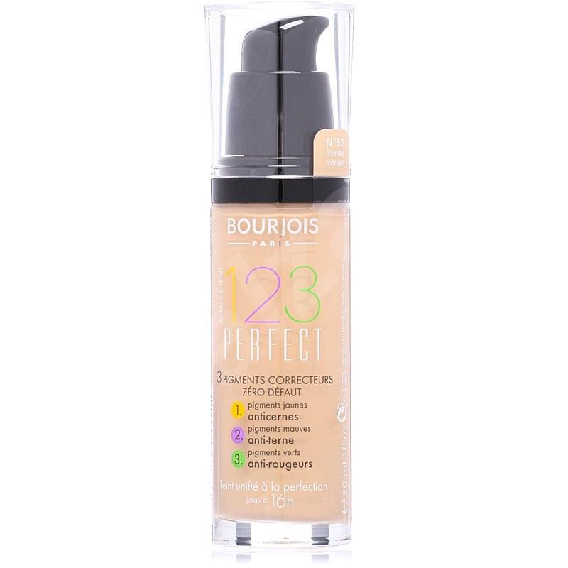 BOURJOIS 123 Perfect Foundation 52 Vanille 30 ml - Make up