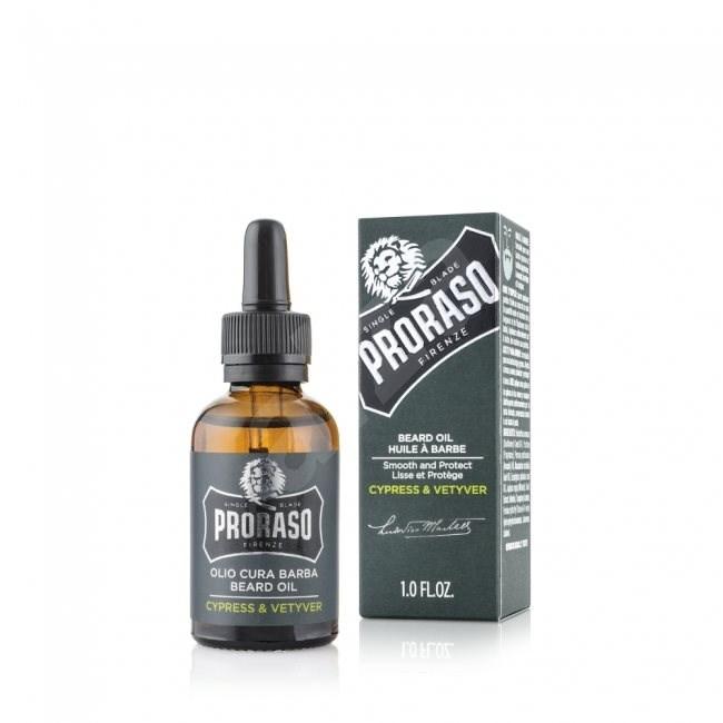 PRORASO Cypress and Vetyver 30 ml - Olej na fúzy