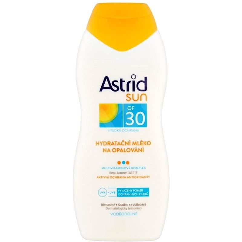 ASTRID SUN Hydratačné mlieko na opaľovanie SPF 30 200 ml - Mlieko na opaľovanie