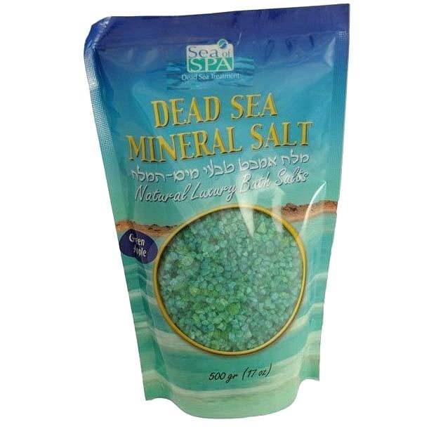Sea of ??spa Minerálne soľ do kúpeľa - zelené jablko 500 g - Soľ do kúpeľa