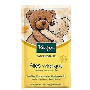 KNEIPP Soľ do kúpeľa Medvedíkovo objatie 60 g - Soľ do kúpeľa