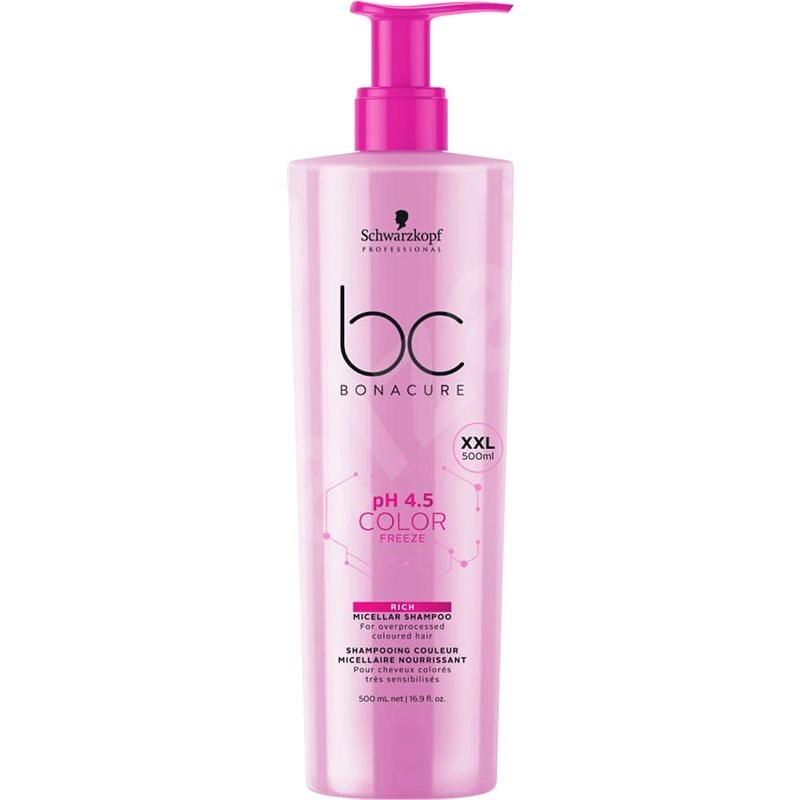 SCHWARZKOPF PROFESSIONAL BC bonacure XXL CF 500 ml - Šampón