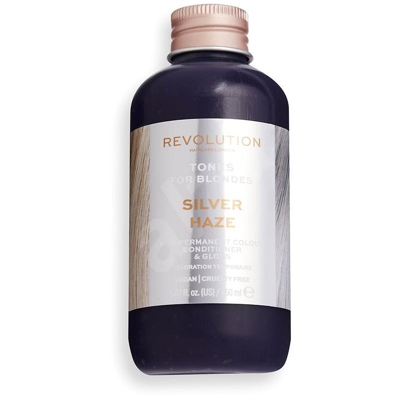 REVOLUTION HAIRCARE Tones for Blondes Silver Haze 150 ml - Farba na vlasy