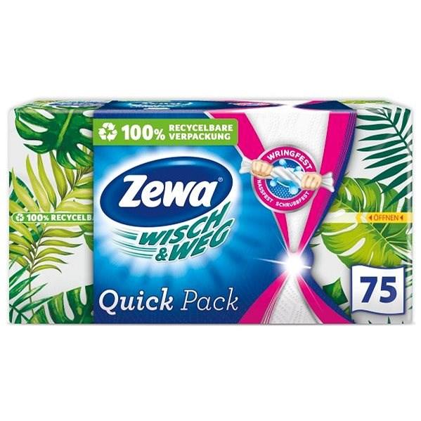 ZEWA Wisch&Weg Quick Pack 75 ks - Kuchynské utierky