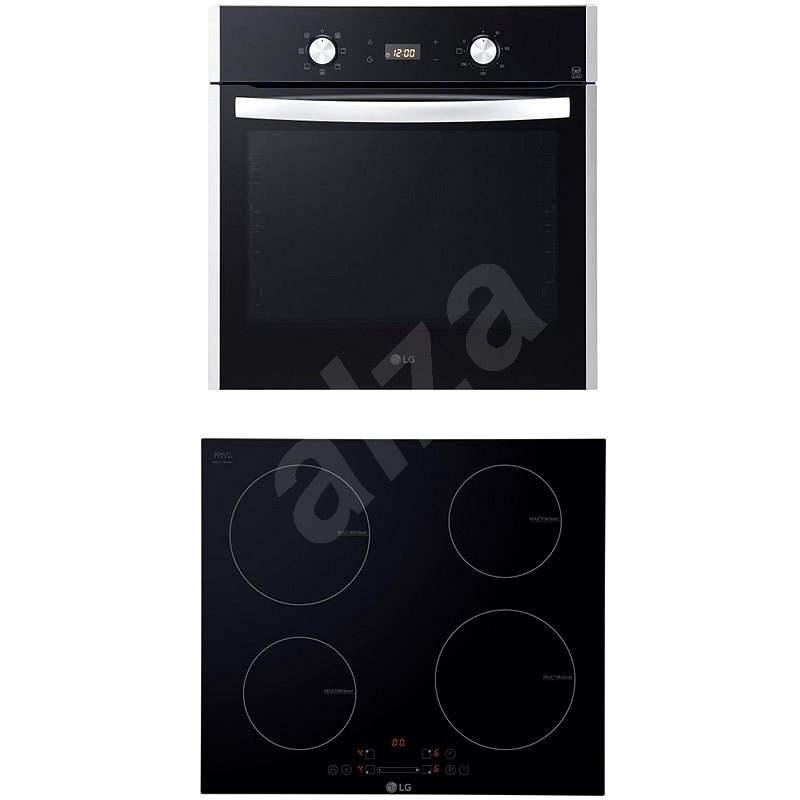 LG LB645129T + LG KVN6403AF - Set spotrebičov