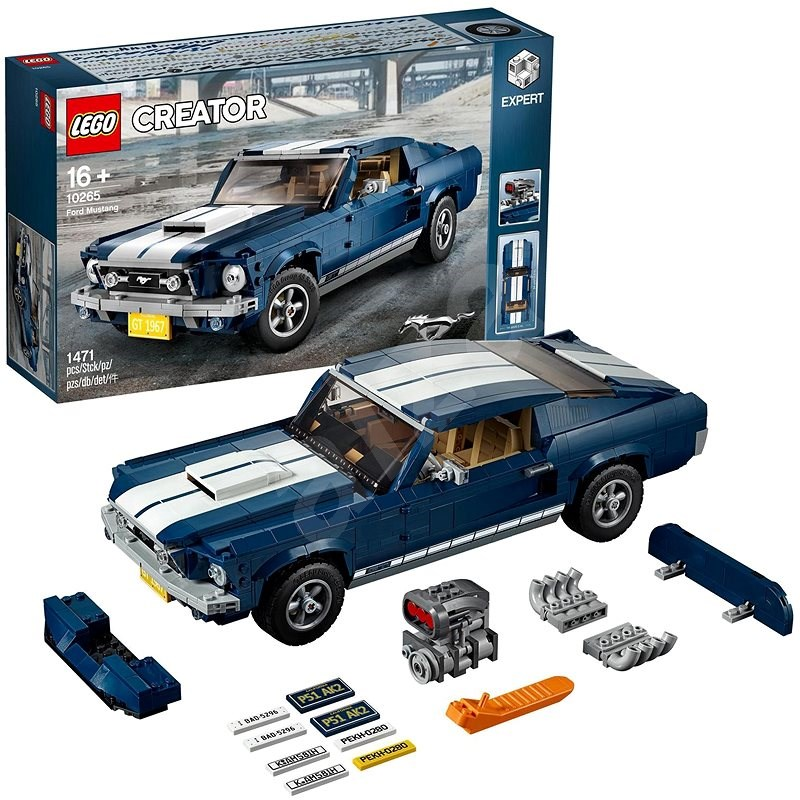 LEGO Creator Expert 10265 Ford Mustang - LEGO stavebnica